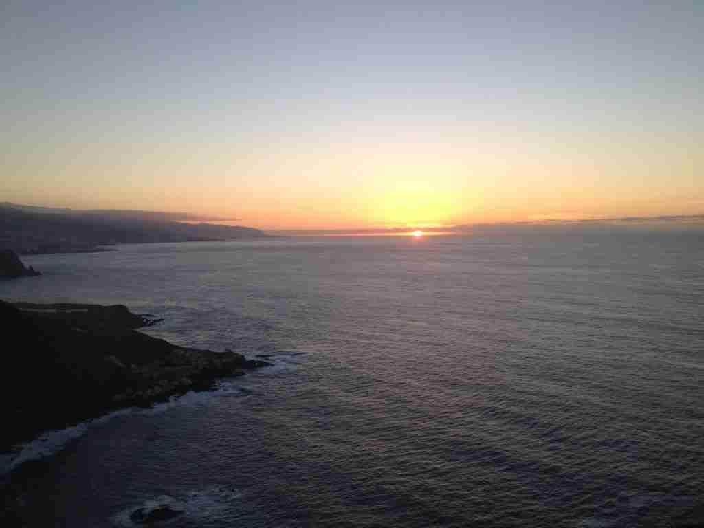 Tenerife cliff view