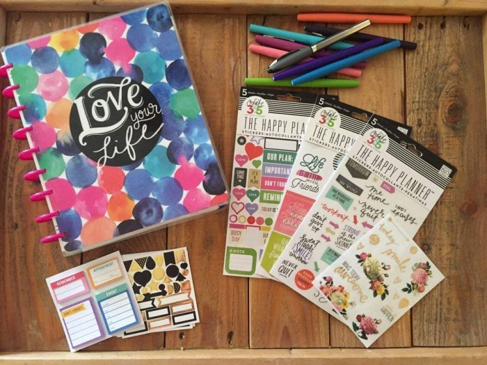 Fab Planner Friday The Happy Planner Life millennialbeautysisters.com