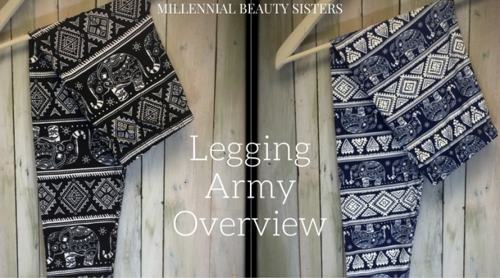 Legging Army is currently a LuLaRoe afterthought. I don't expect it to stay that way for long! You can get these anytime, cheaper, and they're so similar!