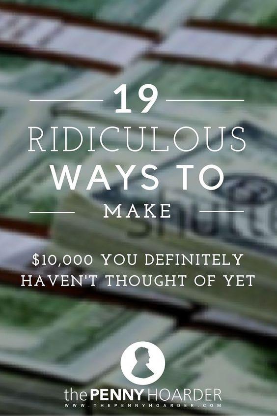19 ways to make extra money