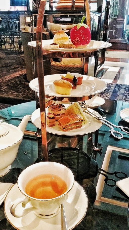 Afternoon Tea, Bangkok, Thailand, Marriott Marquis