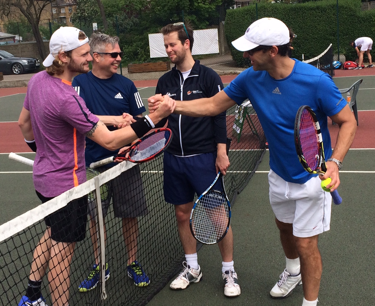 Millennium Cup is Streatham's local team tennis league!