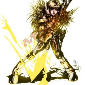 Scout Original Character Illustration 11″ x 14″ Framed Print