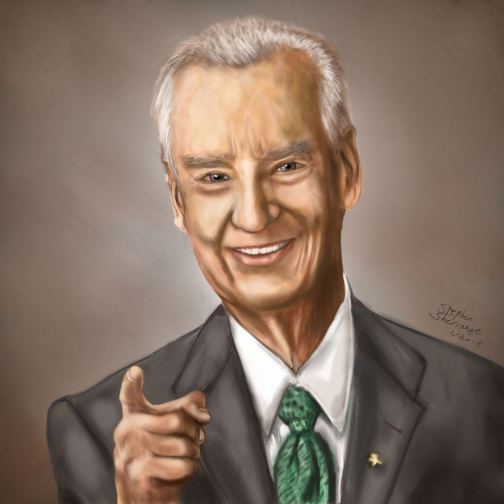 Zig Ziglar Portrait