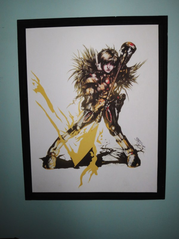 Picture of Scout in Framed Print by Stephen Sherrange