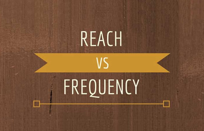 reach vs frequency words on wood