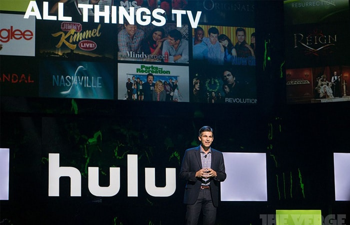 Presenter at Hulu for All Things TV presentation
