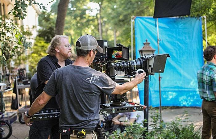 commercial tv shoot