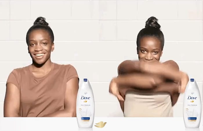 Dove dirty and clean campaign