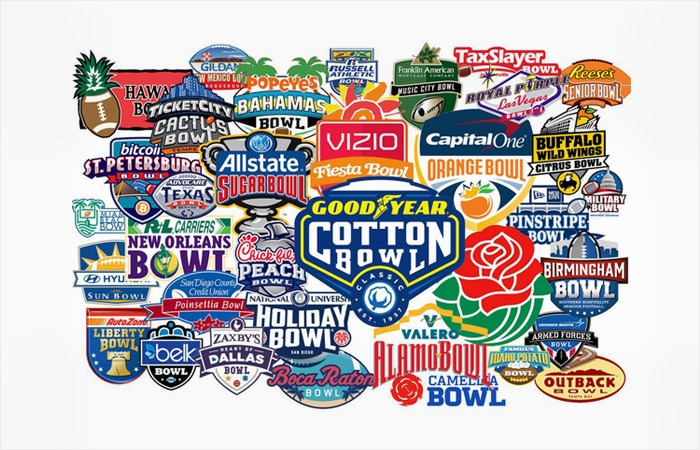 Football Bowl Game Logos