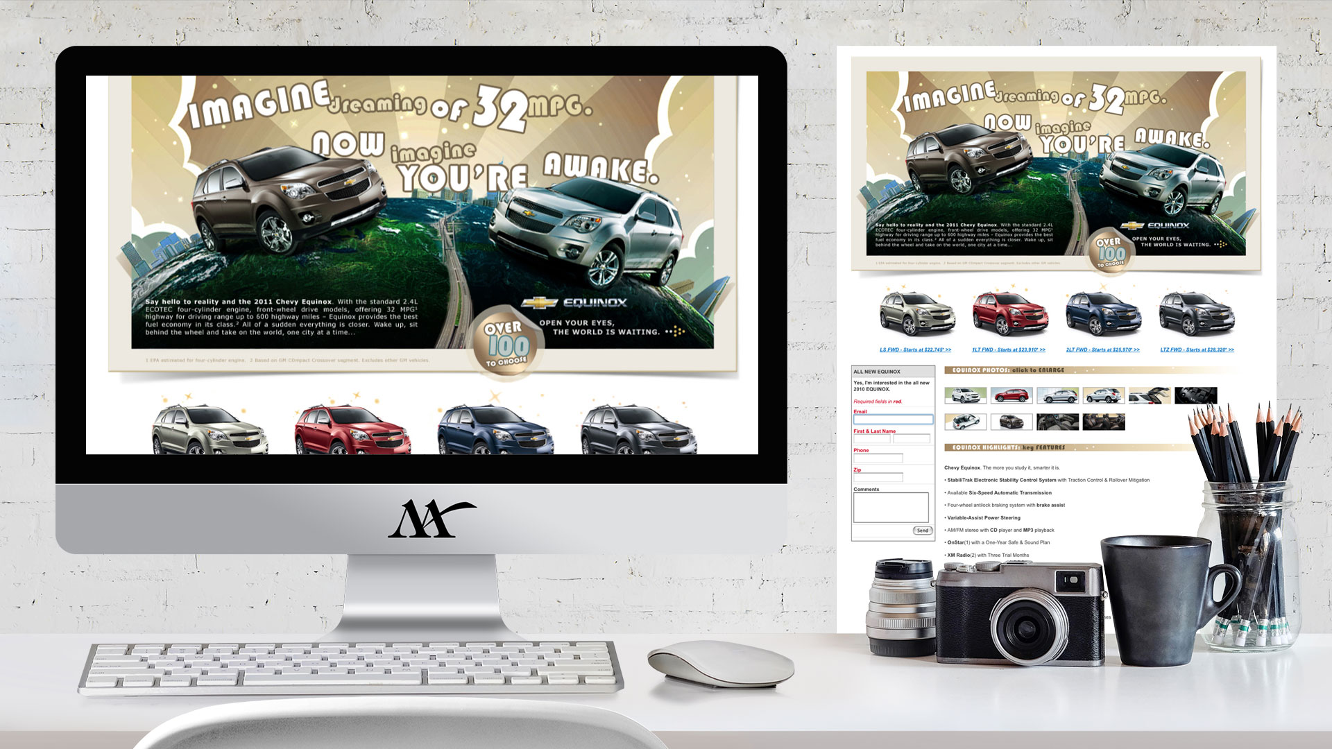 Website: Chevy Equinox Microsite