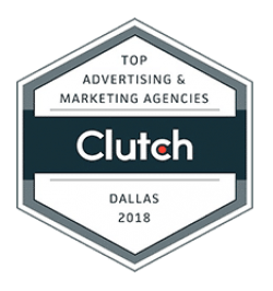top advertising and marketing agencies in Dallas 2018 Clutch award