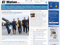 Journal El Watan de l'algérie