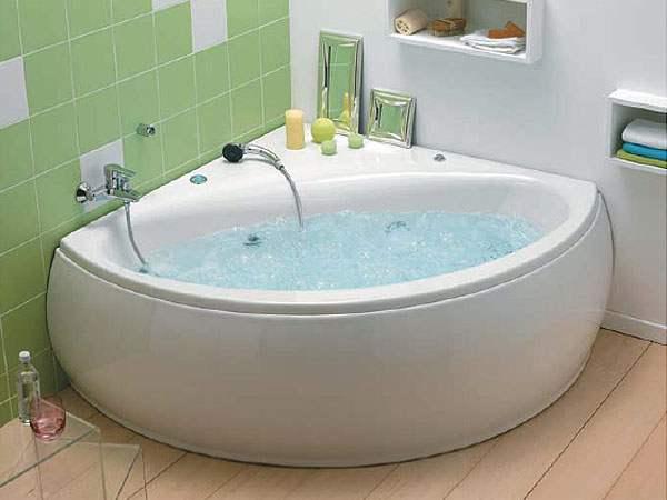 Baignoire D Angle Pour Un Bain De Luxe