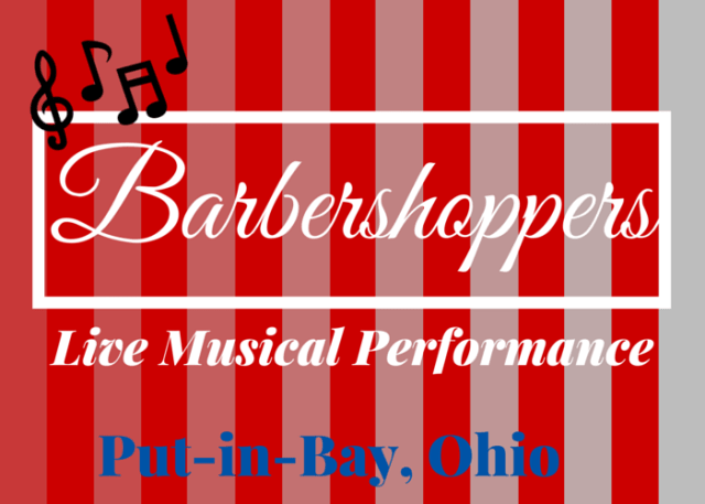 Barbershop Live Music Performance at Put-in-Bay Ohio