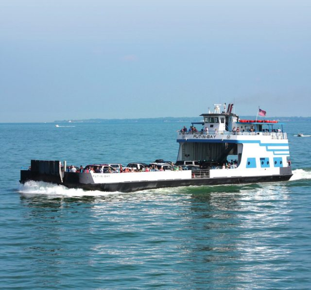 Miller Ferry Put-in-Bay on beautiful Lake Erie