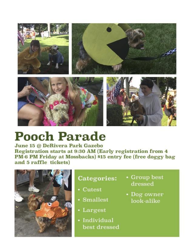 Pooch Parade at Put-in-Bay Ohio