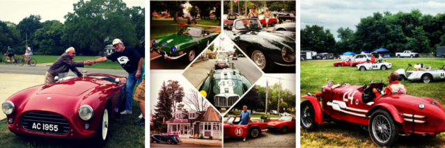 Vintage Sports Car Racing at Put-in-Bay Ohio