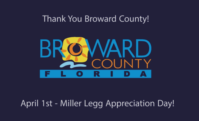 Thanks Broward