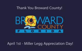 Thanks Broward