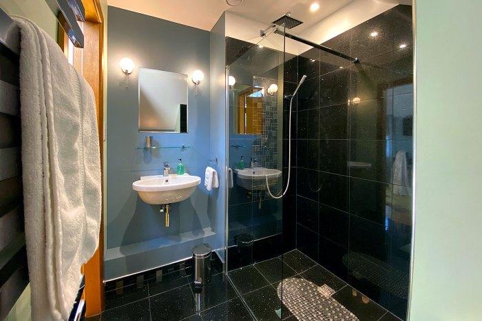 En-suite with walk in shower