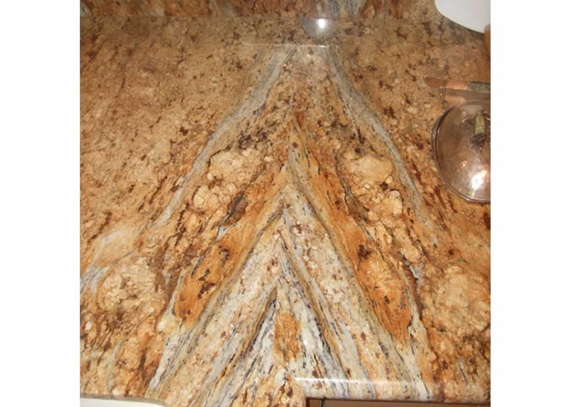 Crema Bordeaux Granite Cove Edge