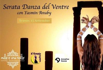 Danza del ventre con Yasmin Alessandra Anuby