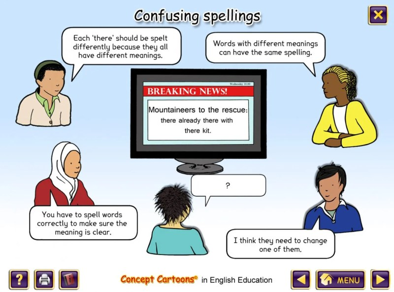Image result for english concept cartoon
