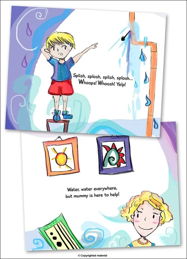 My mummy is a plumber - butterfly books - page 1