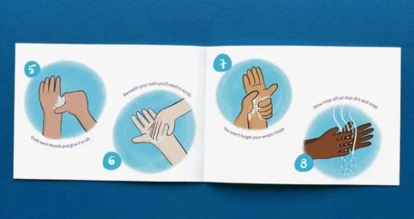 The Handy Hand Washing Handbook Spread 4 Instructions Image Forsites