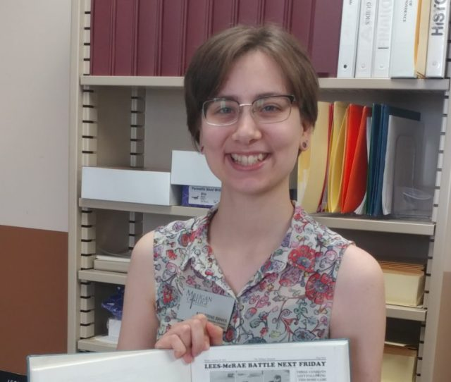 Meet The New Faculty Mrs Katie Banks Information Resources Librarian And College Archivist