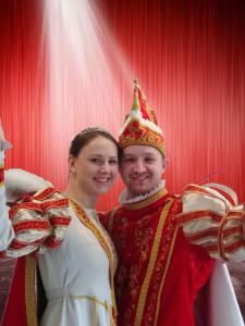 Prinzessin Sarah I. und Prinz Philipp I.