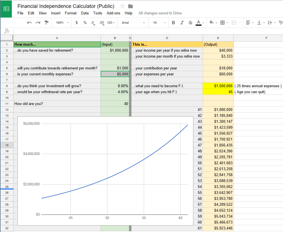 Financial_Independence_Calculator
