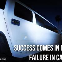 Success comes in cans. Failure in can'ts.