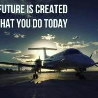 The future is created by what you do today.