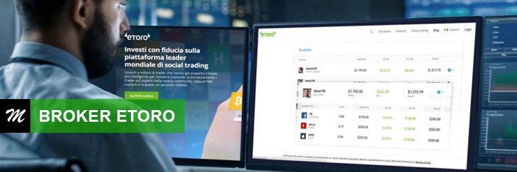Broker de comercio en línea etoro