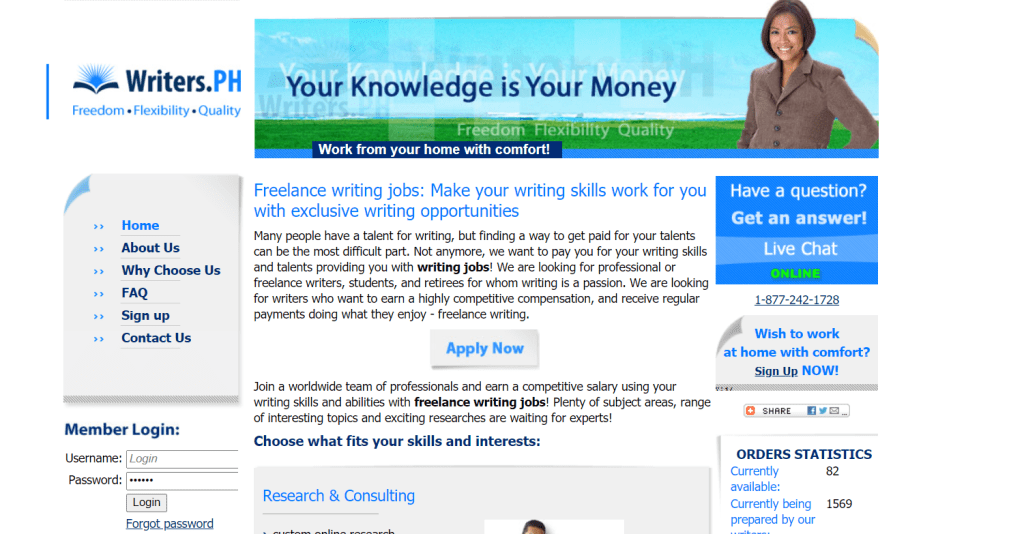 top 10 websites for freelance writers