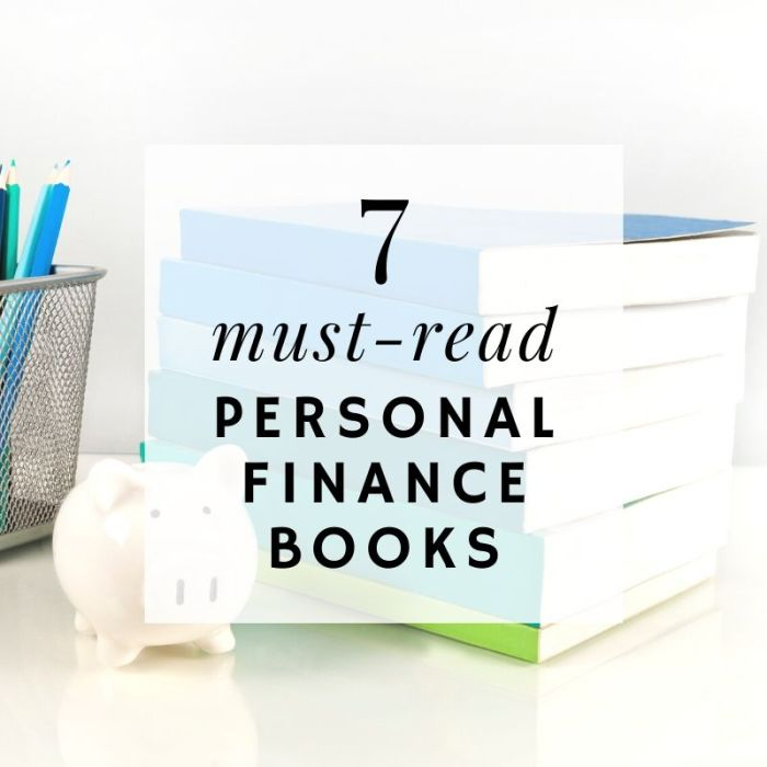 must read personal finance books graphic