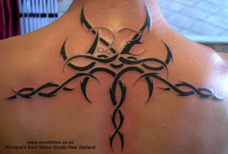 This is a pretty cool Tribal Tattoo