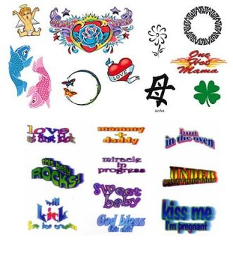 tummy tatts temporary tattoos all designs