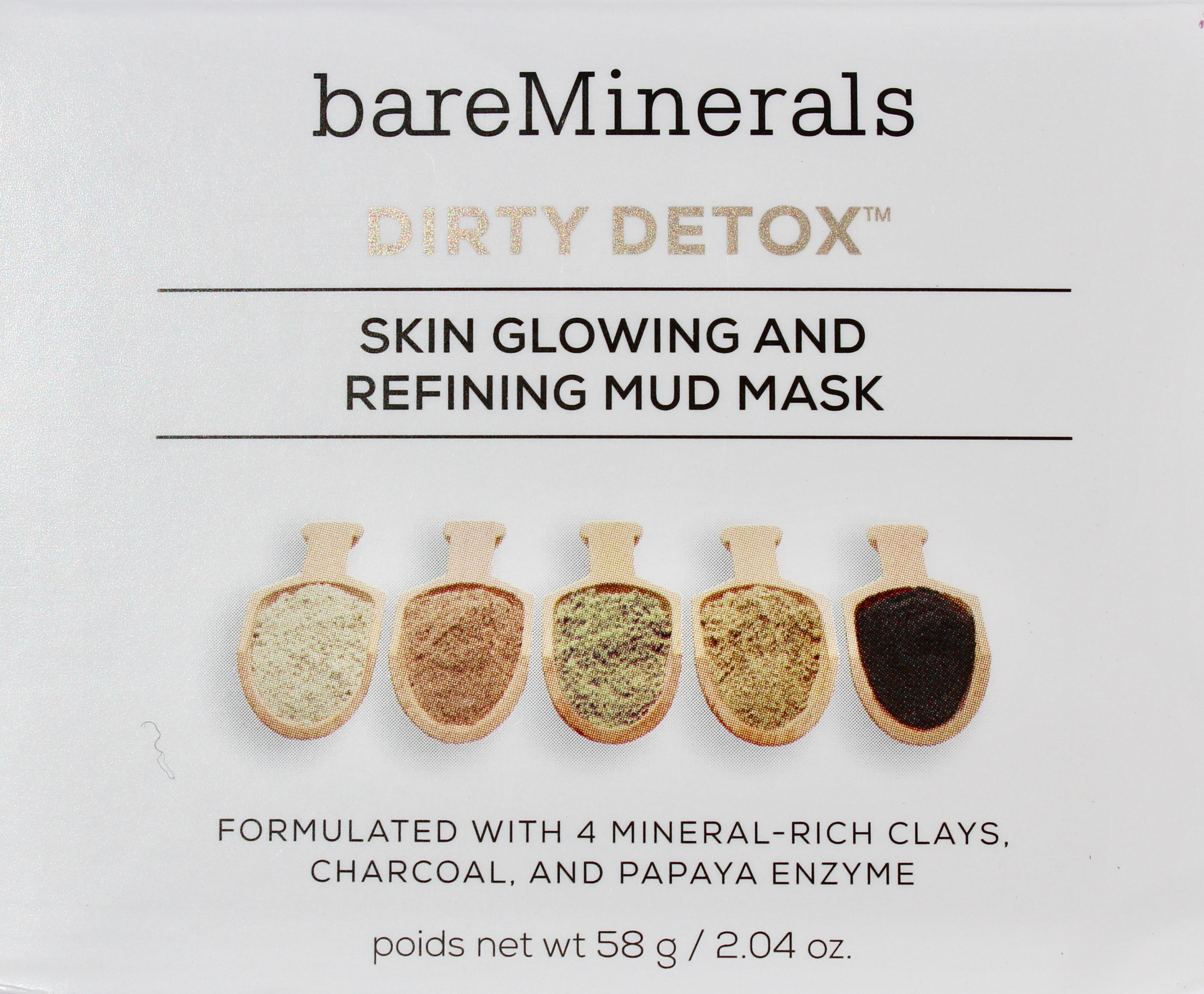 Dirty Detox Skin Glowing & Refining Mud Mask by bareMinerals #4