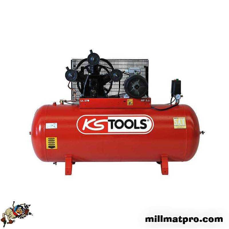 Compresseur 270 Litres 5 5cv Ks Tools Ks Tools 165 0706