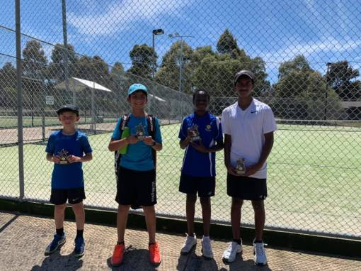 Mill Park Tennis Club   Club Champs Doubles C Grade Mens 2019