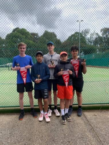 Mill Park Tennis Club   Boys Section 4 NEJTA Spring 2019