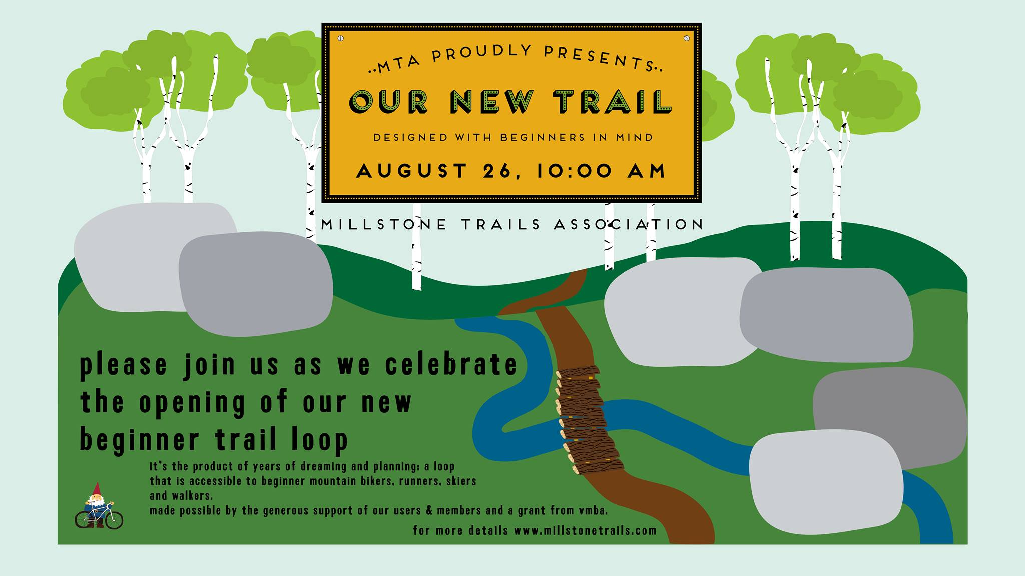 New Trail Opening Ceremony!