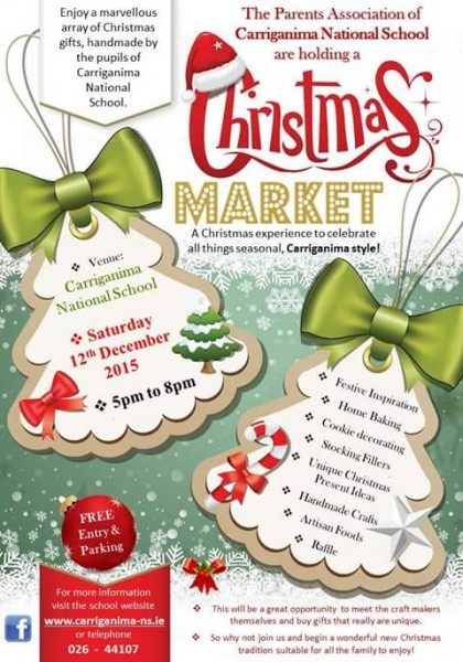 Carriganima Ns Christmas Market Millstreet Ie