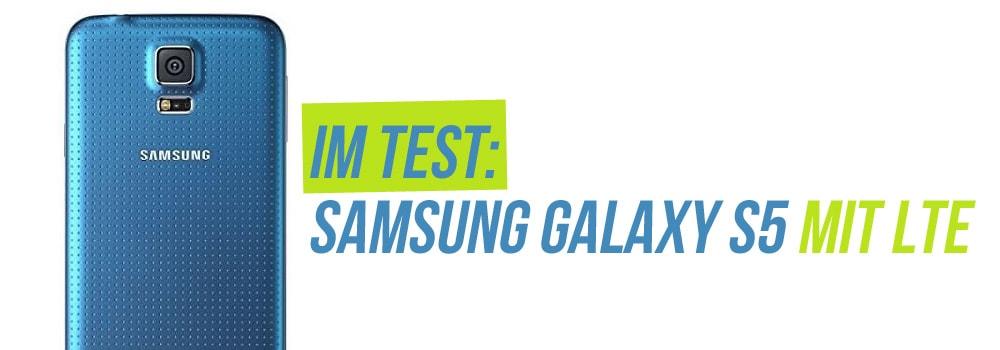 Samsung Galaxy S5 mit LTE