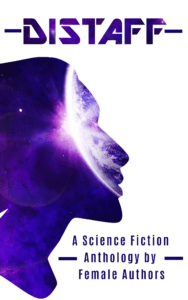 E-Book Cover for Distaff A Science Fiction Anthology by Female Writers