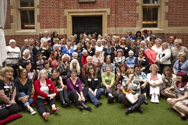 Old Girls reunion, Central Foundation For Girls School, Spitalfields photo by Patricia Niven, 2014