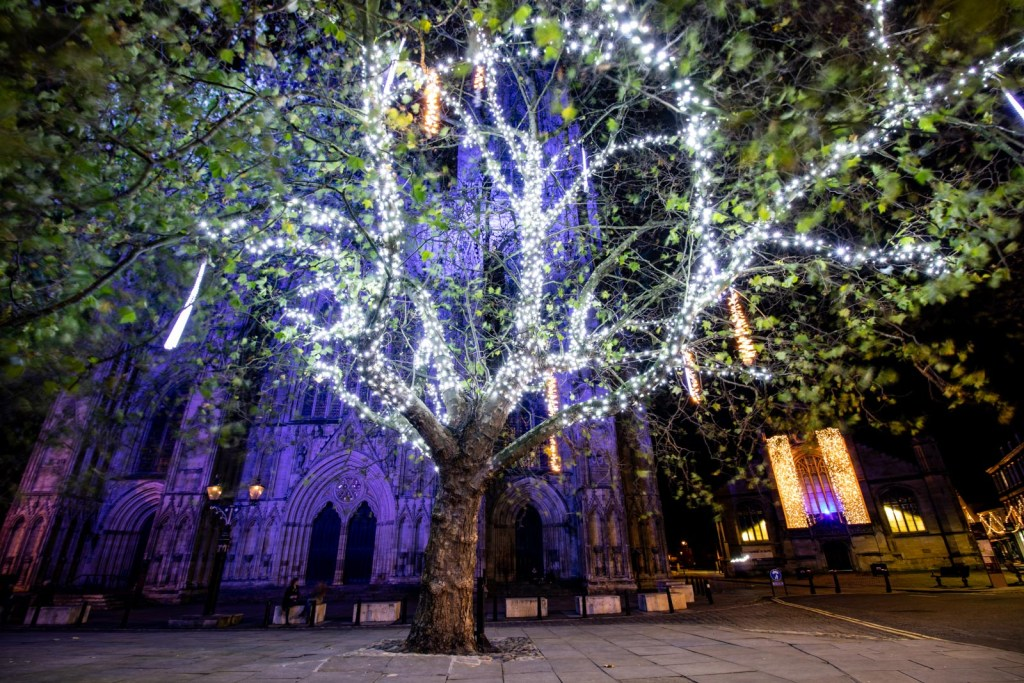 York Christmas Light Switch On 2020 Video